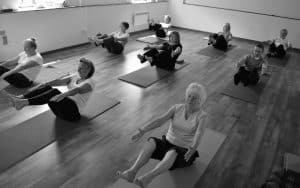 Class at Studio Yoga Stockbridge